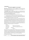 KẾ TOÁN TÀI CHÍNH - CHƯƠNG 3: KẾ TOÁN NGHIỆP VỤ NGÂN QUỸ
