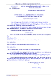 HỆ THỐNG TIÊU CHUẨN THẨM ĐỊNH GIÁ VIỆT NAM 1