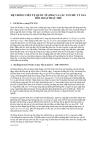 Kinh tế vĩ mô - Hệ thống tiền tệ và cơ chế tỷ giá