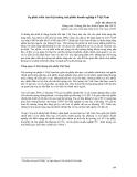 Thị trường tài chính - Sự phát triển của thị trường trái phiếu