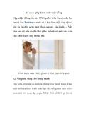 12 cách giúp kiểm soát cuộc sống