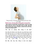 Đánh bay chứng đau hông khi mang thai