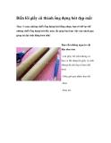 Biến lõi giấy cũ thành ống đựng bút đẹp mắt