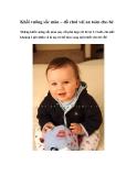 Khối vuông sắc màu – đồ chơi vải an toàn cho bé