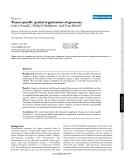 """Báo cáo y học: """"Tissue-specific spatial organization of genomes"""""""