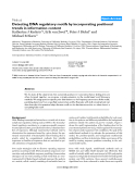 """Báo cáo y học: """" Detecting DNA regulatory motifs by incorporating positional trends in information content"""""""