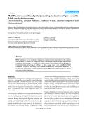 "Báo cáo y học: ""MethMarker: user-friendly design and optimization of gene-specific DNA methylation assays"""