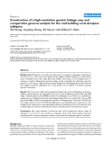 """Báo cáo y học: """"Construction of a high-resolution genetic linkage map and comparative genome analysis for the reef-building coral Acropora millepora"""""""