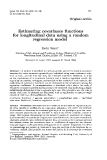 "Báo cáo khoa hoc:"" Estimating covariance functions for longitudinal data using a random regression model"""