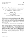 """Báo cáo khoa hoc:"""" Selection of as grandparental combinations a procedure designed to make use of dominance genetic effects"""""""