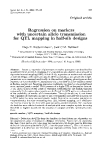 """Báo cáo khoa hoc:""""Regression markers with uncertain allele transmission for QTL mapping in half-sib designs"""""""