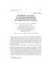 """Báo cáo khoa hoc:"""" EM-REML estimation of covariance parameters in Gaussian mixed models for longitudinal data analysis"""""""