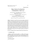 "Báo cáo khoa hoc:""  Bayes factors for detection of Quantitative Trait Loci"""