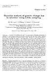 "Báo cáo sinh học: "" Bayesian analysis of genetic change due to selection using Gibbs sampling"""