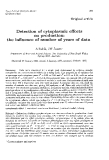 """Báo cáo sinh học: """"Detection of  cytoplasmic effects on production: the influence of  number  of  years of  data"""""""