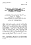 """Báo cáo sinh học: """" Resistance to heat and cold stress in Drosophila melanogaster: intra and inter population variation in relation to climate"""""""