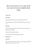 GIÁO ÁN LÝ: Bài 27 .CÂN BẰNG CỦA VẬT RẮN DƯỚI TÁC DỤNG CỦA BA LỰC KHÔNG SONG SONG