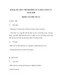 BÀI 42: SỰ CHẢY THÀNH DÒNG CỦA CHẤT LỎNG VÀ CHẤT KHÍ ĐỊNH LUẬT BÉC-NU-LI