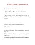 Bài 7. BẢNG TUẦN HOÀN CÁC NGUYÊN TỐ HÓA HỌC