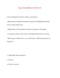 Bài 1. THÀNH PHẦN NGUYÊN TỬYêu cầu cần đạt được khi học sinh học xong bài