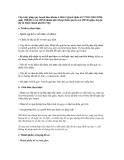Cấp Giấy phép quy hoạch theo khoản 4 Điều 9 Quyết định số 27/2011/QĐ-UBND ngày 30/8/2011 của UBND thành phố (thuộc thẩm quyền của UBND quận, huyện, thị xã thuộc thành phố Hà Nội)