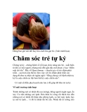 Phương pháp Chăm sóc trẻ tự kỷ