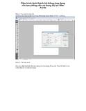 Giáo trình hình thành hệ thống ứng dụng cấu tạo phông nền sử dụng bộ lọc filter Arctis p1