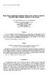 """báo cáo khoa học: """"Best linear unbiased prediction when error vector is correlated with other random vectors in the model"""""""