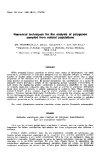"""báo cáo khoa học: """"Numerical  techniques for the analysis of polygenes sampled from natural populations"""""""