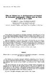 """báo cáo khoa học: """"Effet de l'éthanol sur le développement pré-imaginal de Drosophila melanogaster : relation avec les locus de l'Adh et de l'α-Gpdh"""""""