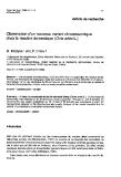 """báo cáo khoa học: """"Observation d'un nouveau variant chromosomique chez le mouton domestique (Ovis aries L.)"""""""