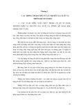CÁC PHƯƠNG PHÁP THỐNG KÊ TRONG THUỶ VĂN - CHƯƠNG 1