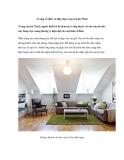 Vẻ đẹp cổ điển và hiện đại trong căn hộ 75m2