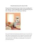Phòng khách đẹp lãng mạn theo phong cách Hàn