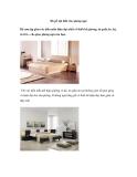 Đồ gỗ nội thất cho phòng ngủ