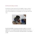 Bộ chế hòa khí cho động cơ methanol