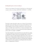 Hệ thống điện tử quản lý sự làm việc của động cơ