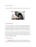 Kiểm tra sử dụng lốp xe