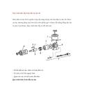 Quy trình tháo lắp bơm dầu trợ lực lái