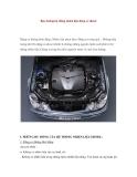 Bảo dưỡng hệ thống nhiên liệu động cơ diesel