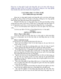 Luật Khoa học và công nghệ số 21/2000/QH10 ngày 09/6/2000