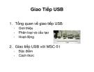 SLIDE - Giao Tiếp USB - Phân loại và cấu tạo