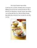 Bảy bí quyết giúp ăn ngon miệng