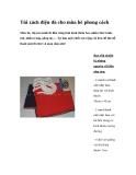 Túi xách điệu đà cho mùa hè phong cách
