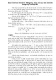 Giáo trình hình thành hệ thống ứng dụng tinh lọc tính dính kết trong quy trình tạo alit p1