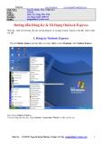 Hướng Dẫn Đăng Ký và Sử Dụng Outlook Express