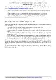 Nhận xét và gợi ý đáp án đềthi tuyển sinh đại học năm 2010 môn sinh học khối B