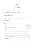 Lý thuyết y khoa: Tên thuốc ATARAX UCB PHARMA