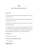 Bài 27 ĐỘNG NĂNG – ĐỊNH LÝ ĐỘNG NĂNG