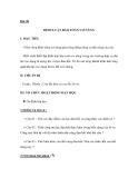 Bài 30 ĐỊNH LUẬT BẢO TOÀN CƠ NĂNG